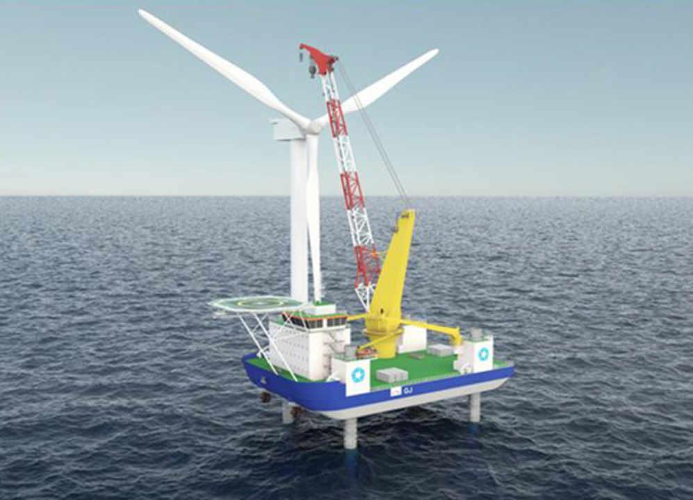 Order For Multi Purpose Self Elevating Platform Vessel Ship Offshore