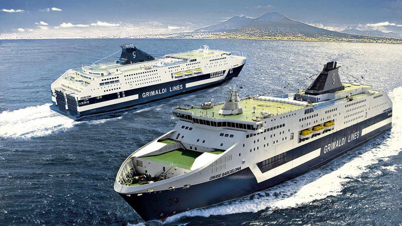 Grimaldi completes Corvus battery retrofits on two cruise ferries