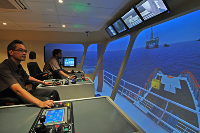 Bourbon training center with AHTS simulator in Singapore - Ship&Offshore